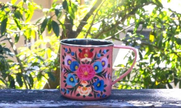 Enamel Camping Mug Pink All Glampingall Glamping